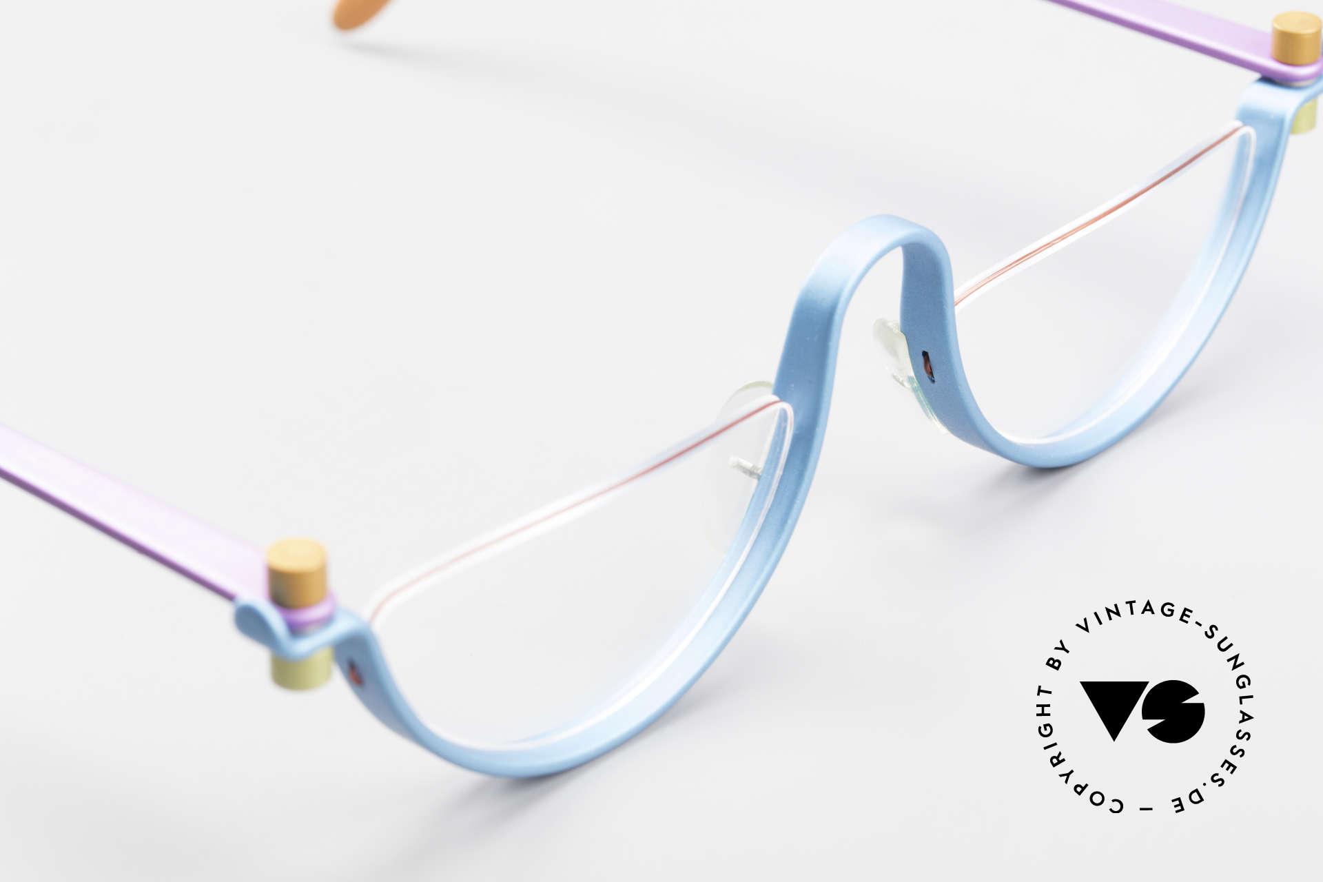 ProDesign No1 The Hunt For Red October 1990, ultra RARE designer reading eyeglasses from 1990, Made for Men and Women