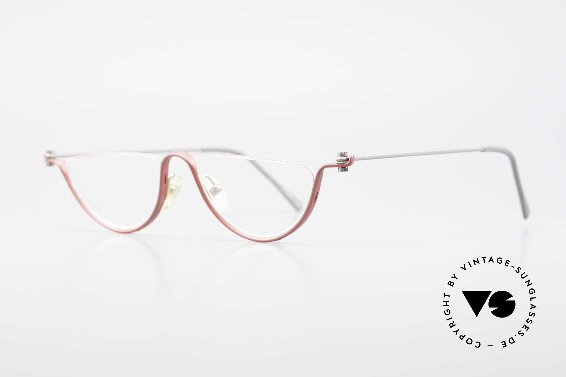 ProDesign No11 Gail Spence Design Eyeglasses, successor of the legendary Pro Design N° ONE model, Made for Women