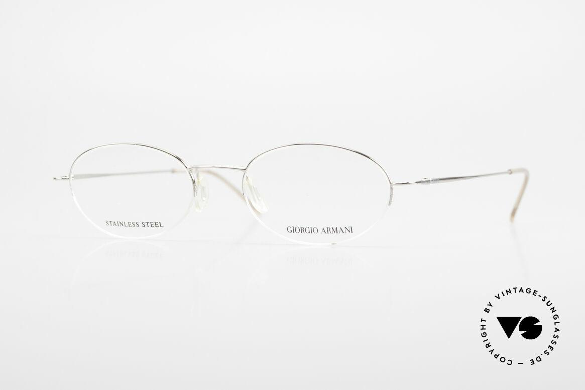 Giorgio Armani 26N Small Oval Eyeglasses Nylor, Giorgio Armani, Mod. 26N, col. 7T0, Gr. 45/18, 130, Made for Men and Women