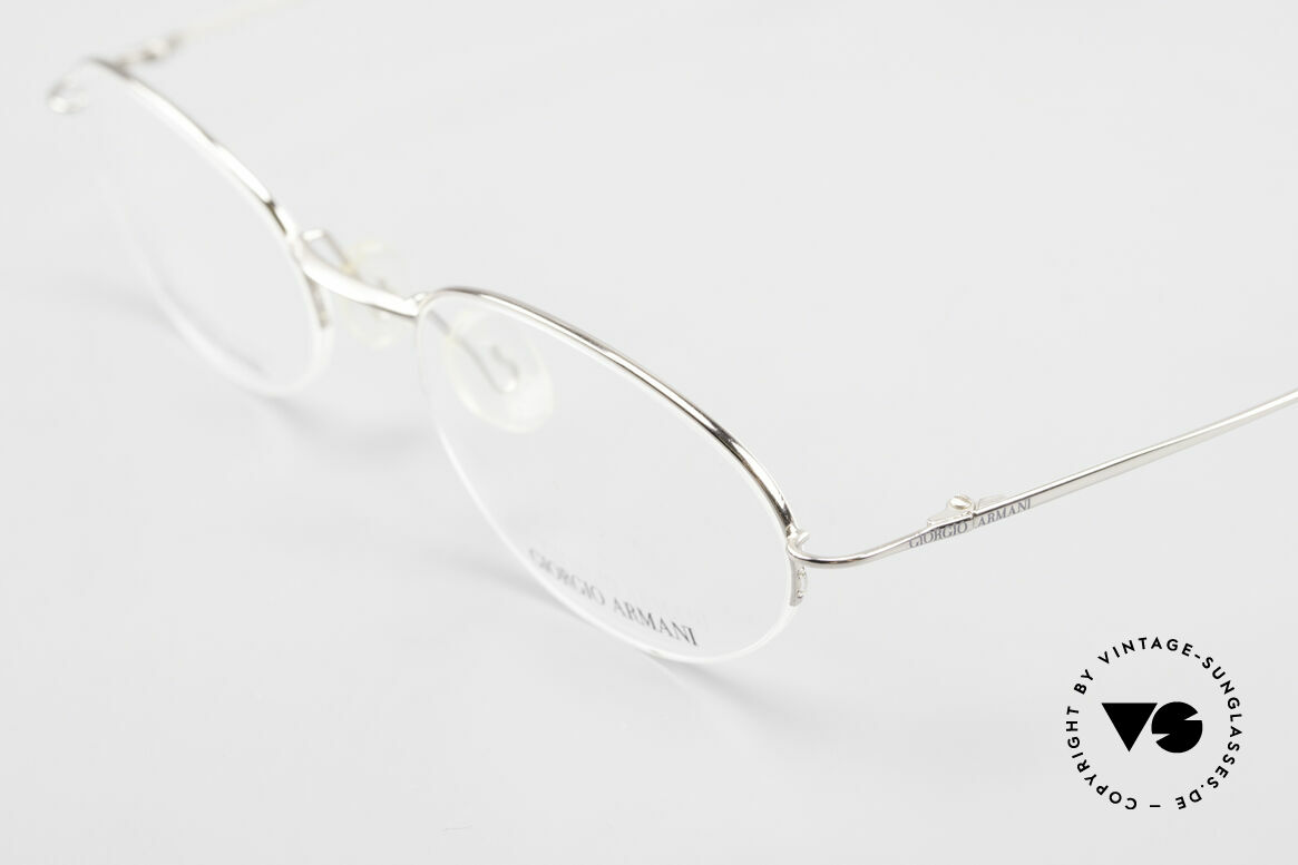 Giorgio Armani 26N Small Oval Eyeglasses Nylor, top quality and very comfortable (lightweight: 8g), Made for Men and Women