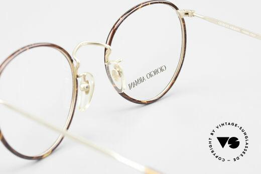 Giorgio Armani 112 90's Panto Eyeglasses Men, NO RETRO SPECS, but a unique 25 years old original, Made for Men