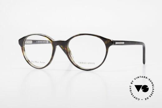 Giorgio Armani 467 Unisex Panto Eyeglass-Frame Details