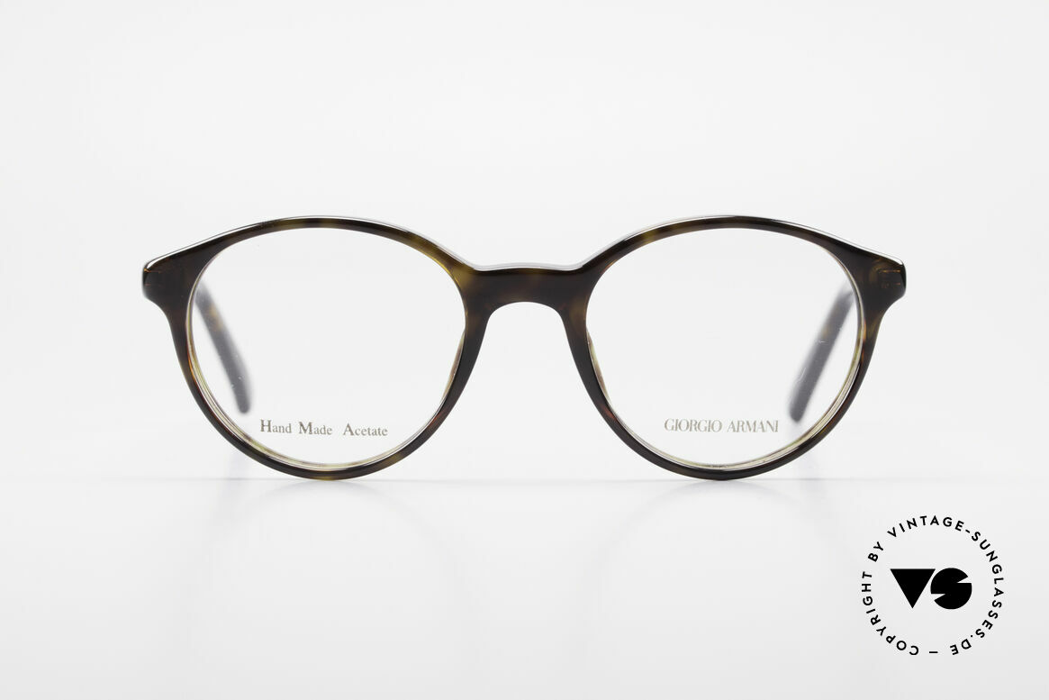 Giorgio Armani 467 Unisex Panto Eyeglass-Frame, classic, timeless, elegant = characteristic of GA, Made for Men and Women