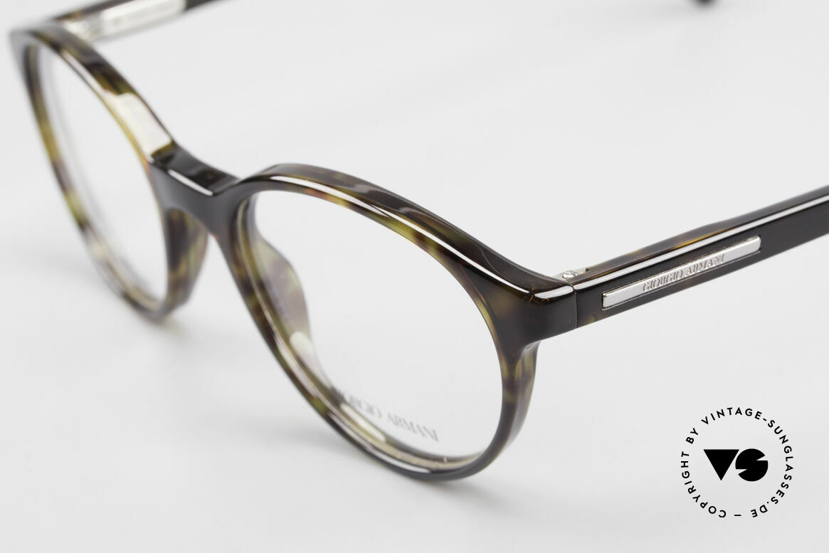 Giorgio Armani 467 Unisex Panto Eyeglass-Frame, frame is made for lenses of any kind (optical/sun), Made for Men and Women