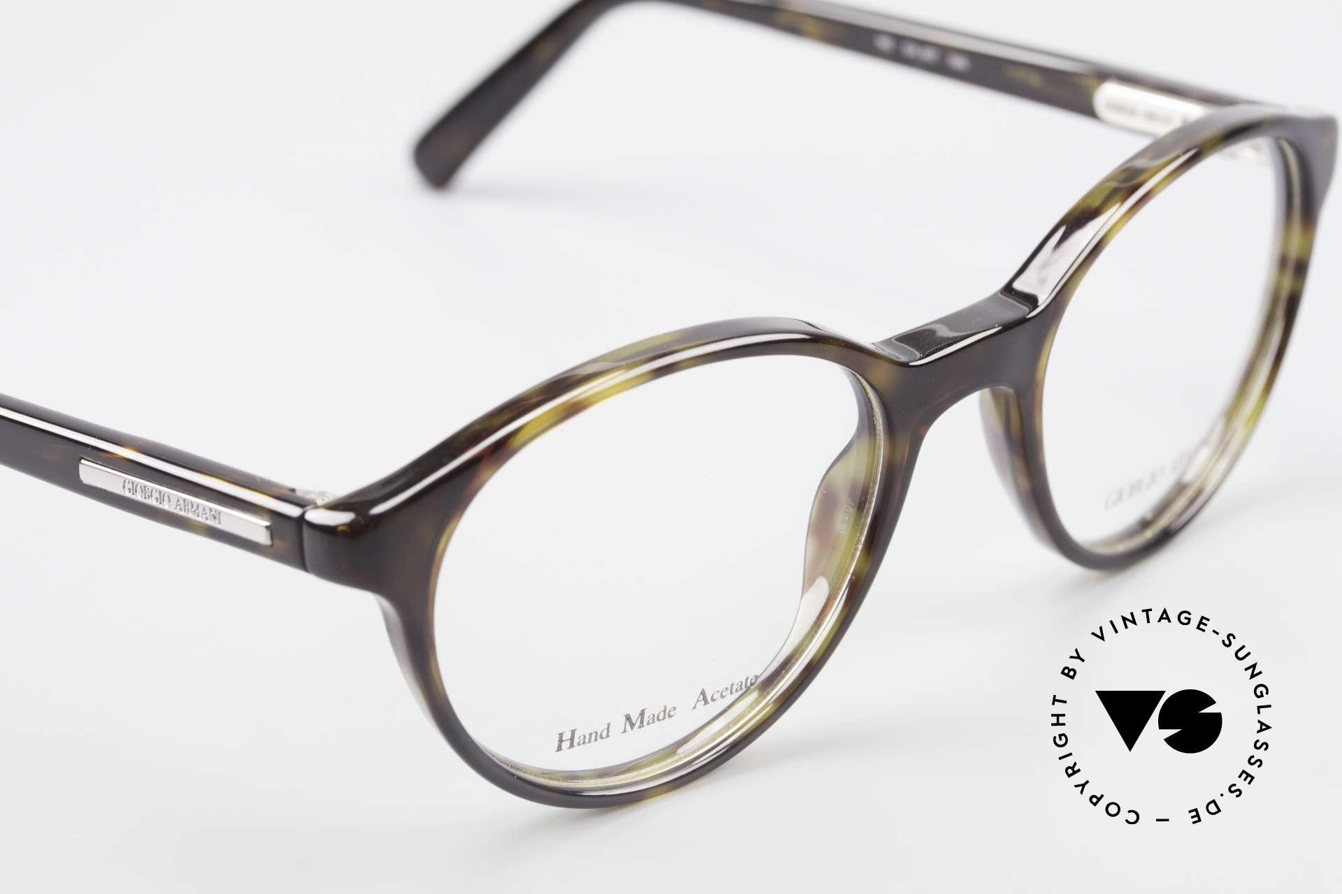 Giorgio Armani 467 Unisex Panto Eyeglass-Frame, unworn (like all our vintage Giorgio Armani specs), Made for Men and Women