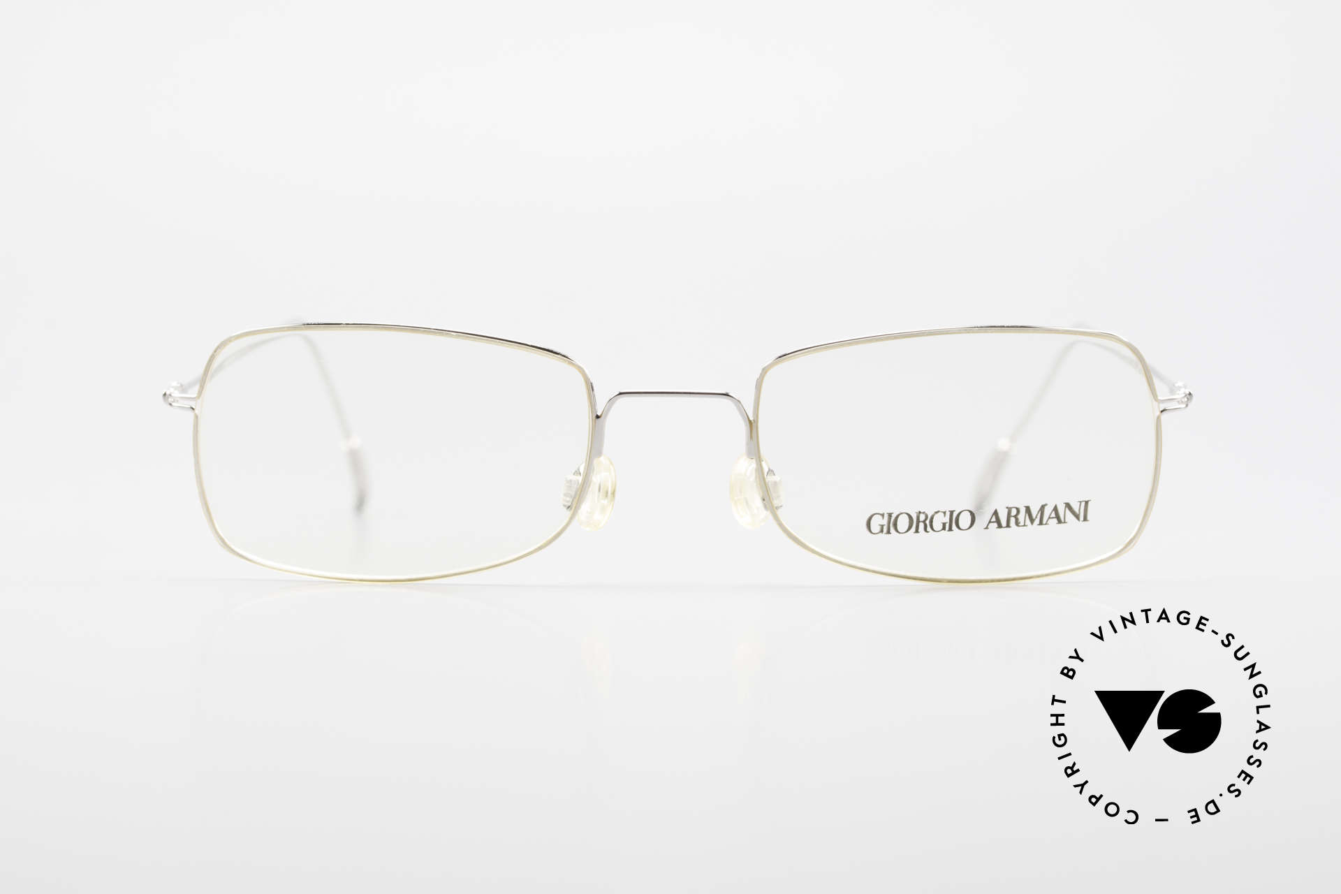 Giorgio Armani 1091 Small Wire Glasses Unisex, plain & puristic 'wire glasses' (EXTRA SMALL SIZE), Made for Men and Women