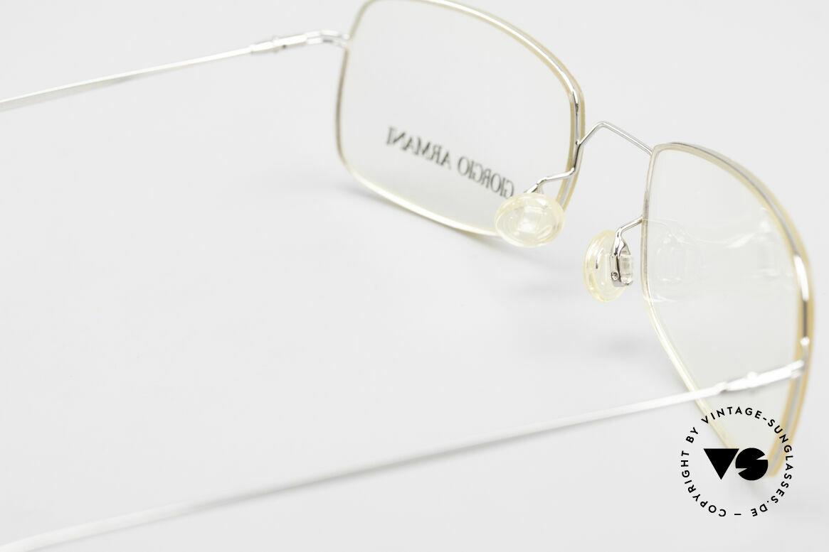 Giorgio Armani 1091 Small Wire Glasses Unisex, Size: small, Made for Men and Women