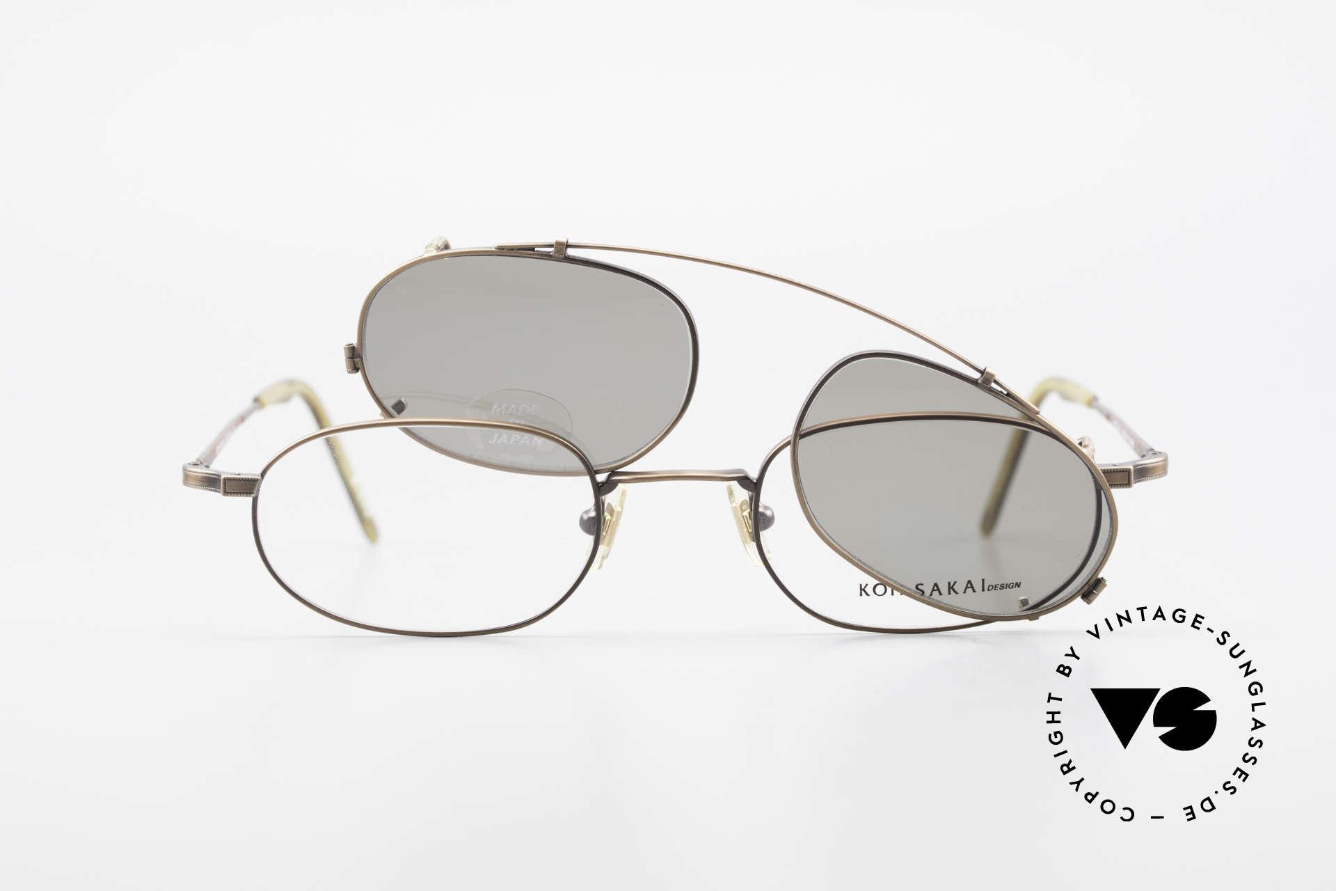 Koh Sakai KS9706 Original Made in Japan Frame, unworn, NOS (like all our old L.A.+ Sabae eyeglasses), Made for Men and Women
