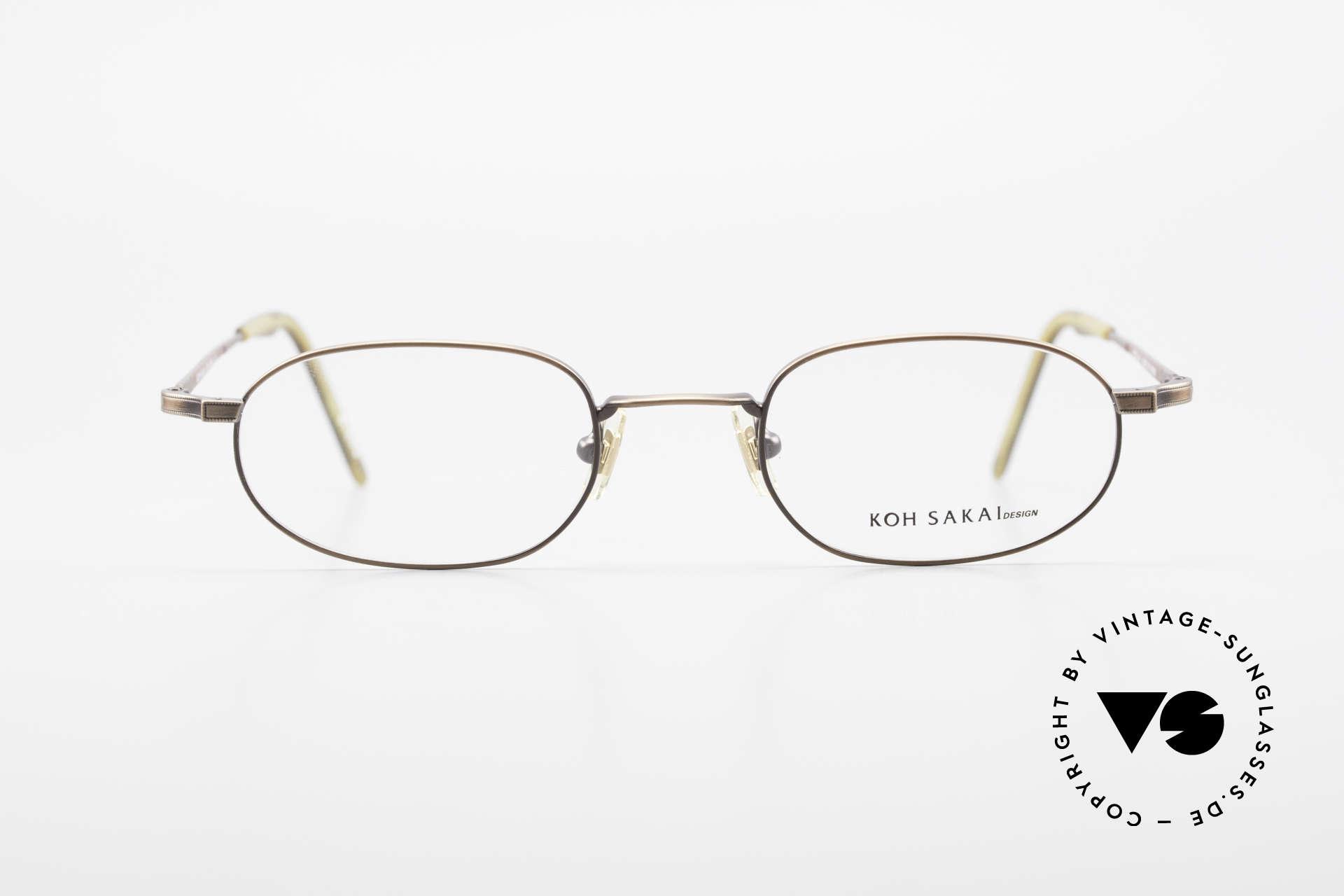 Koh Sakai KS9706 Original Made in Japan Frame, Size: medium, Made for Men and Women