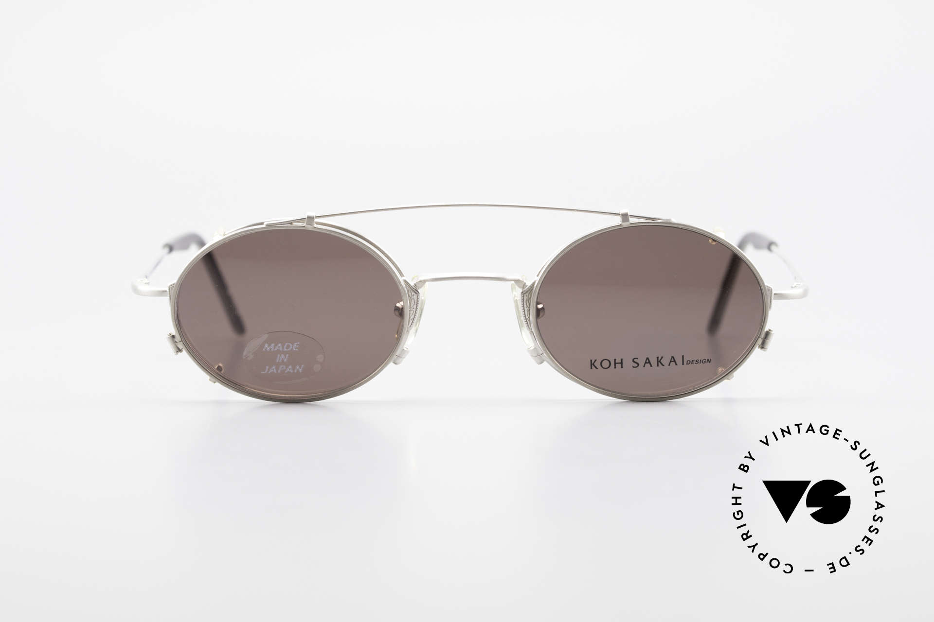 Koh Sakai KS9711 Small Oval Glasses Clip On, Koh Sakai, BADA and OKIO have been one distribution, Made for Men and Women