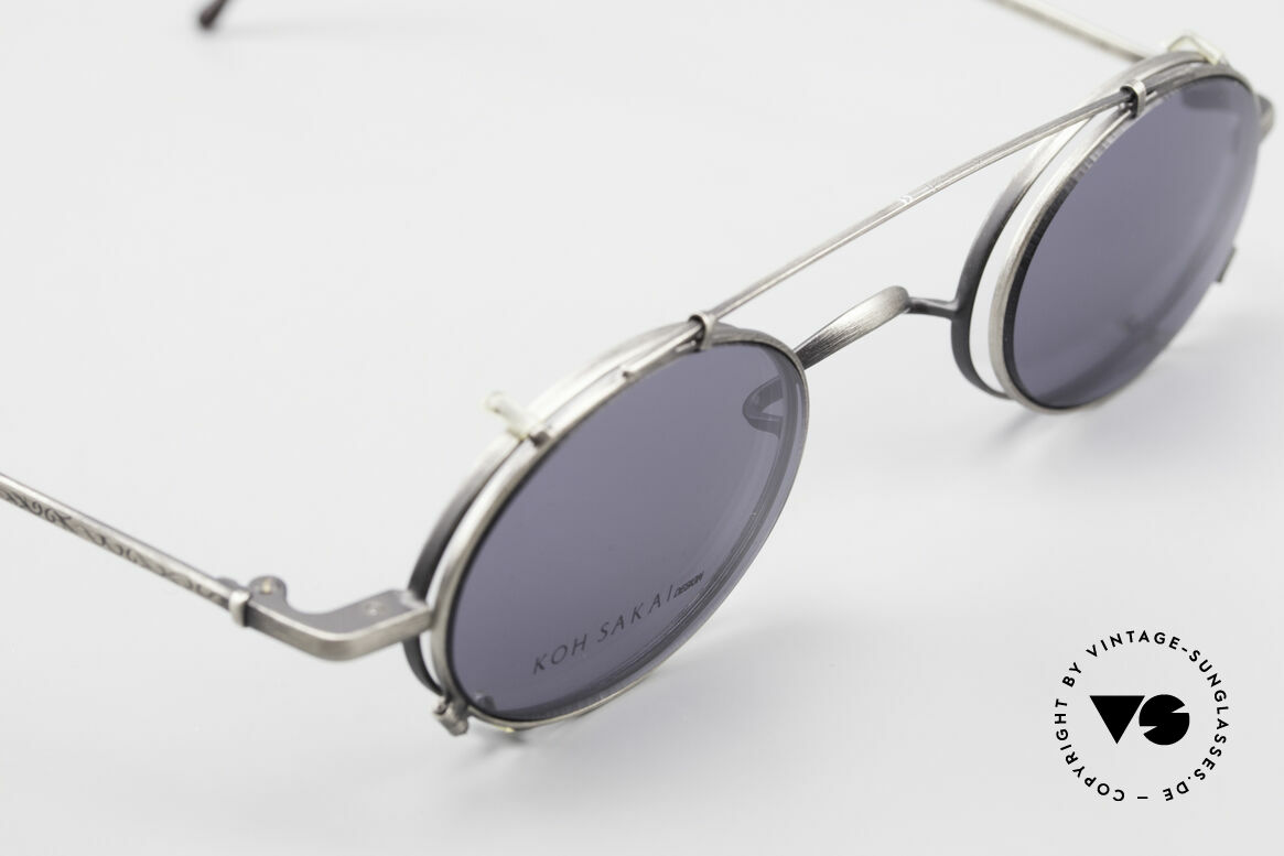 "Koh Sakai KS9591 Small Oval Eyeglasses Clip On, accordingly, the same TOP QUALITY / ""look-and-feel"", Made for Men and Women"