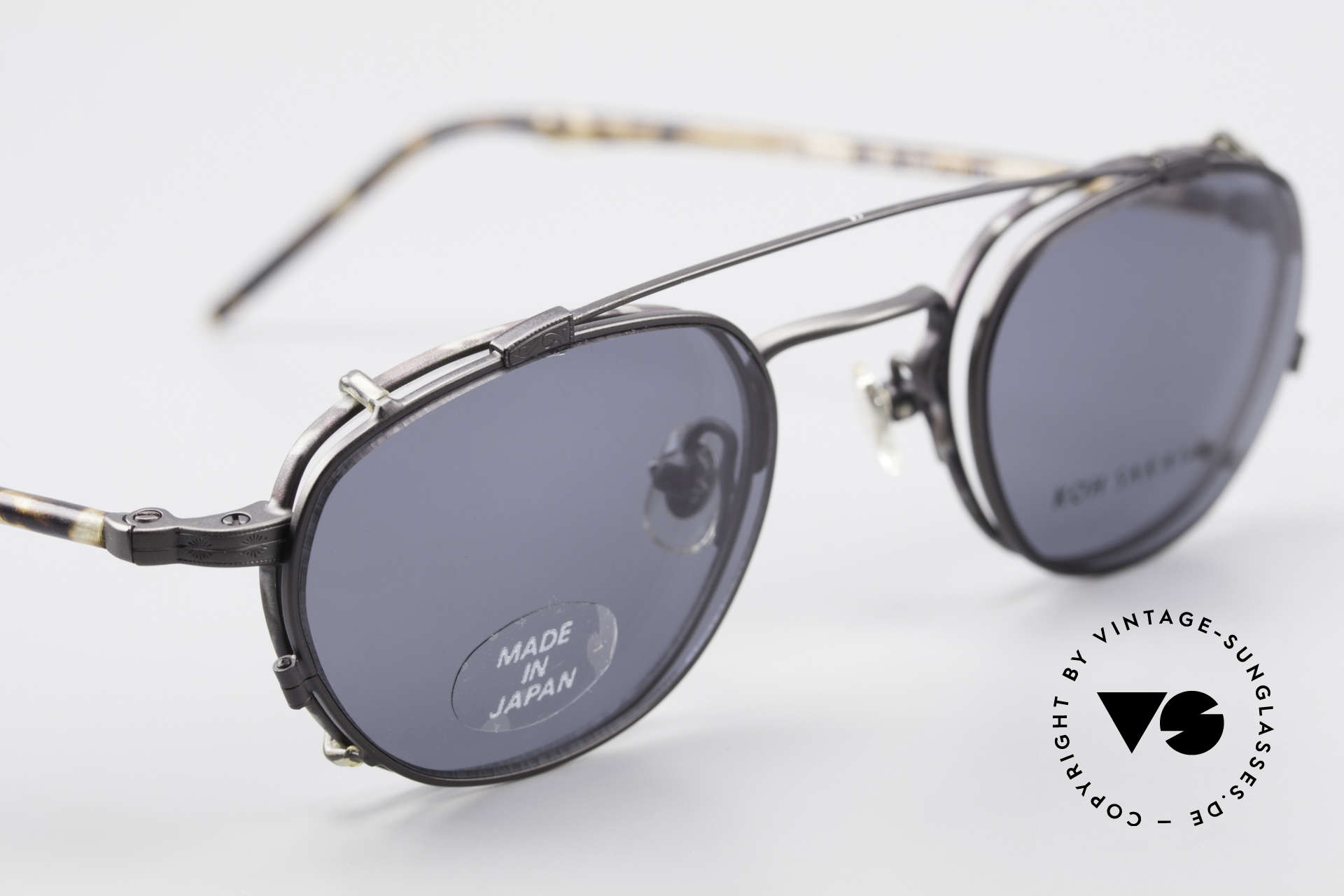 "Koh Sakai KS9408 Small Eyeglasses With Clip On, accordingly, the same TOP QUALITY / ""look-and-feel"", Made for Men and Women"