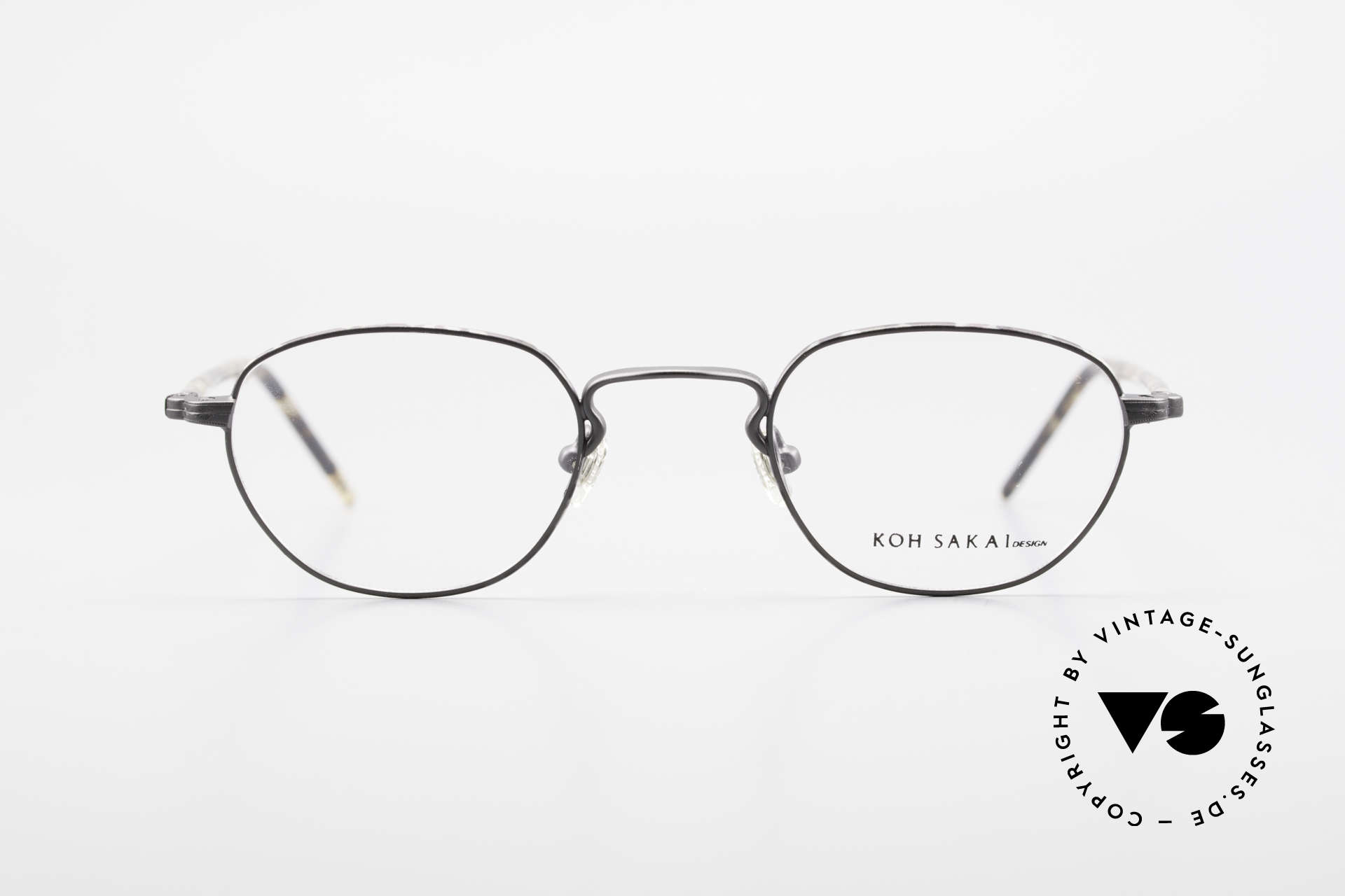 Koh Sakai KS9408 Small Eyeglasses With Clip On, Size: small, Made for Men and Women