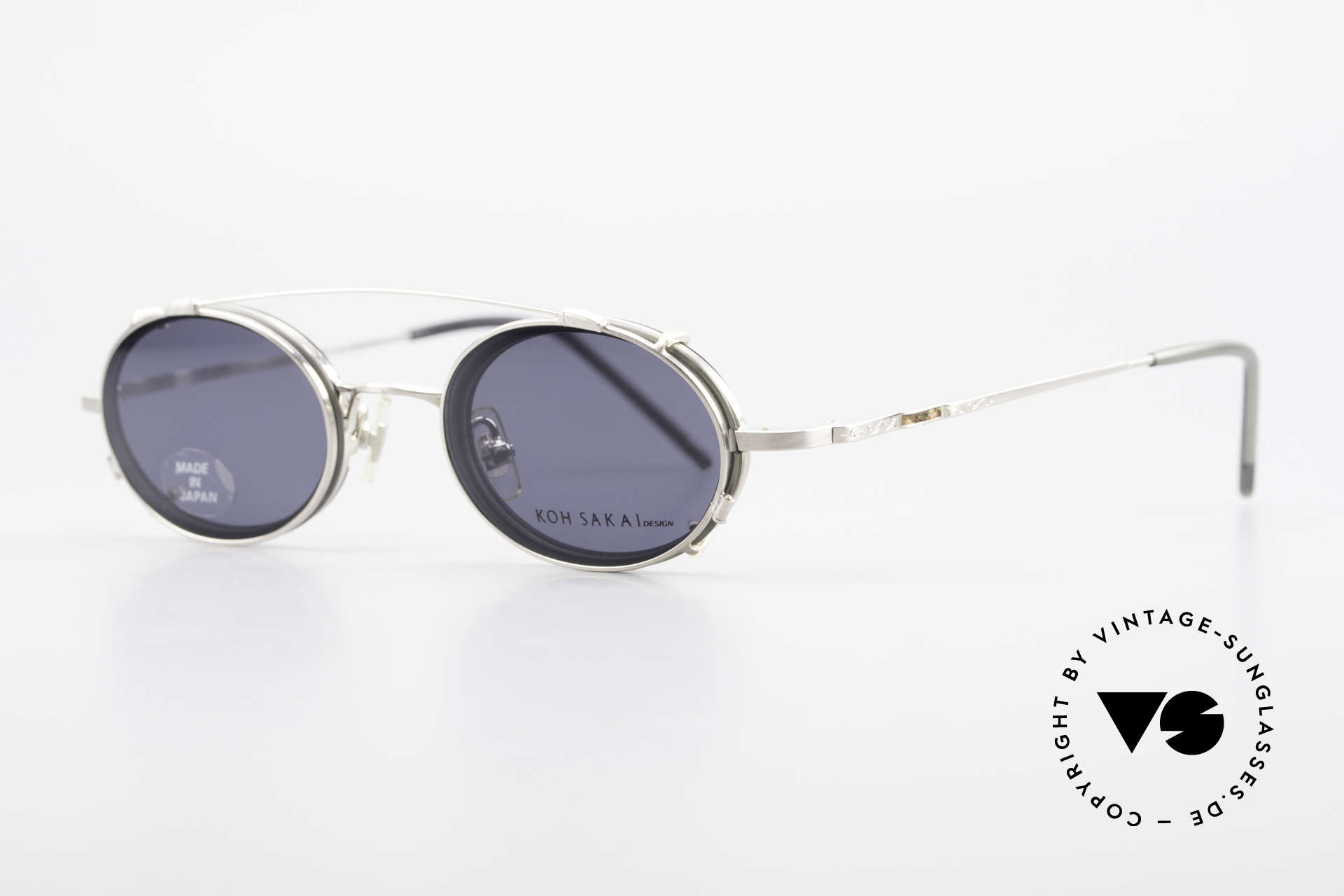 Koh Sakai KS9831 Oval 90's Frame Made in Japan, designed in Los Angeles and produced in Sabae (Japan), Made for Men