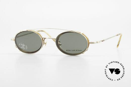 Koh Sakai KS9831 90's Frame Made in Japan Oval Details