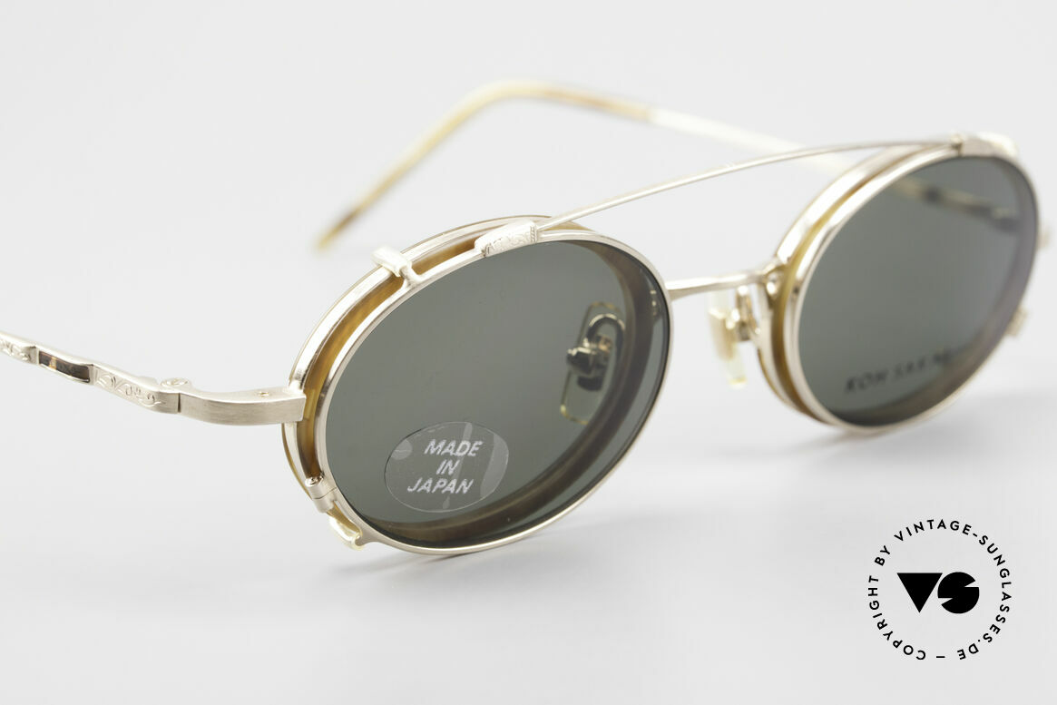 "Koh Sakai KS9831 90's Frame Made in Japan Oval, accordingly, the same TOP QUALITY / ""look-and-feel"", Made for Men"