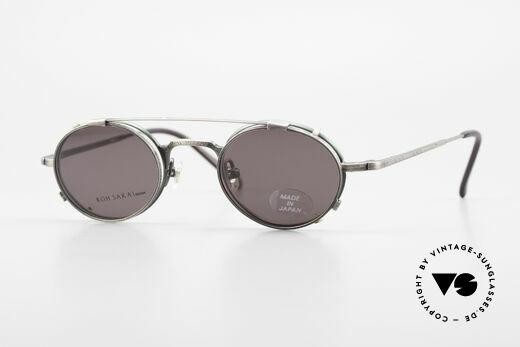 Koh Sakai KS9301 90s Oliver Peoples Eyevan Style Details