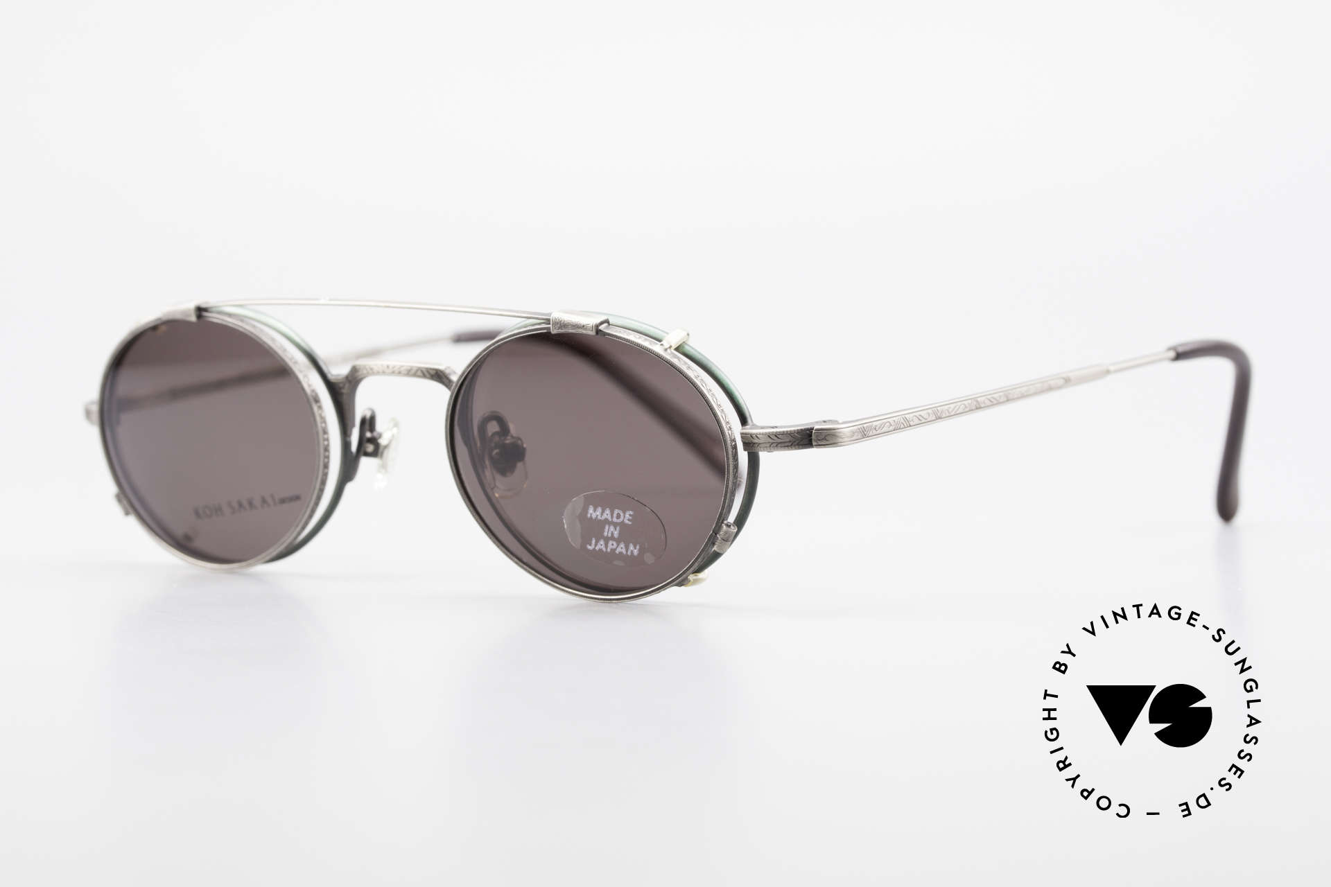 Koh Sakai KS9301 90s Oliver Peoples Eyevan Style, designed in Los Angeles and produced in Sabae (Japan), Made for Men