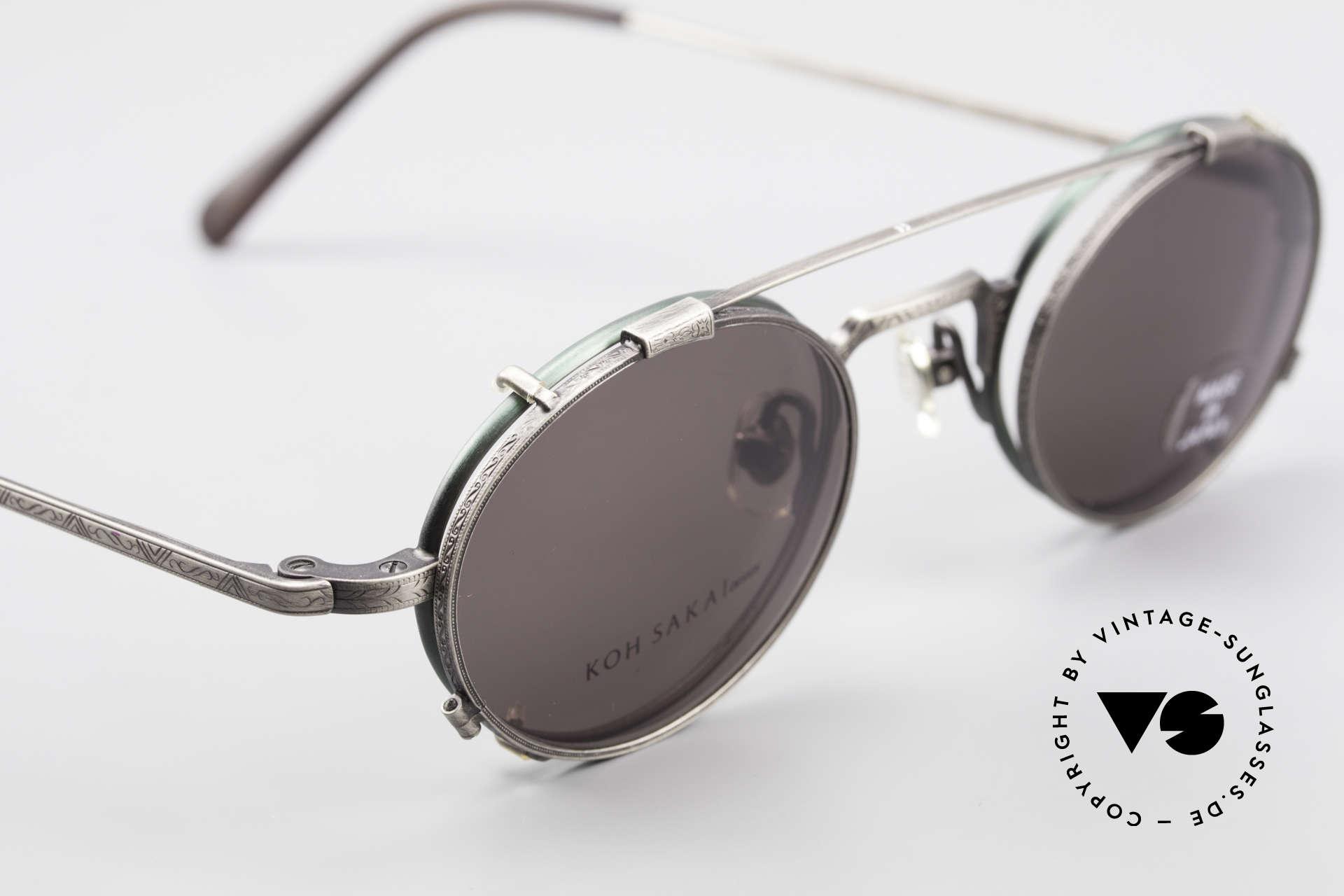 Koh Sakai KS9301 90s Oliver Peoples Eyevan Style, unworn, NOS (like all our old L.A.+ Sabae eyeglasses), Made for Men