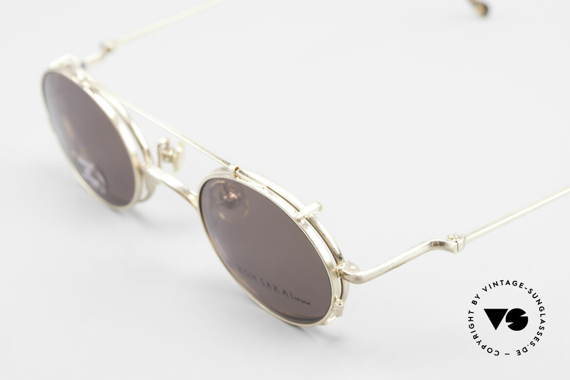 Koh Sakai KS9541 90s Oval Frame Made in Japan, made in the same factory like Oliver Peoples & Eyevan, Made for Men and Women