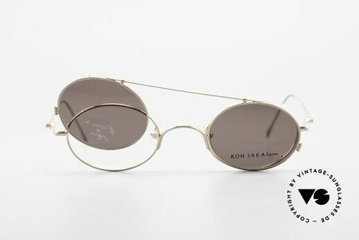 Koh Sakai KS9541 90s Oval Frame Made in Japan, unworn, NOS (like all our old L.A.+ Sabae eyeglasses), Made for Men and Women