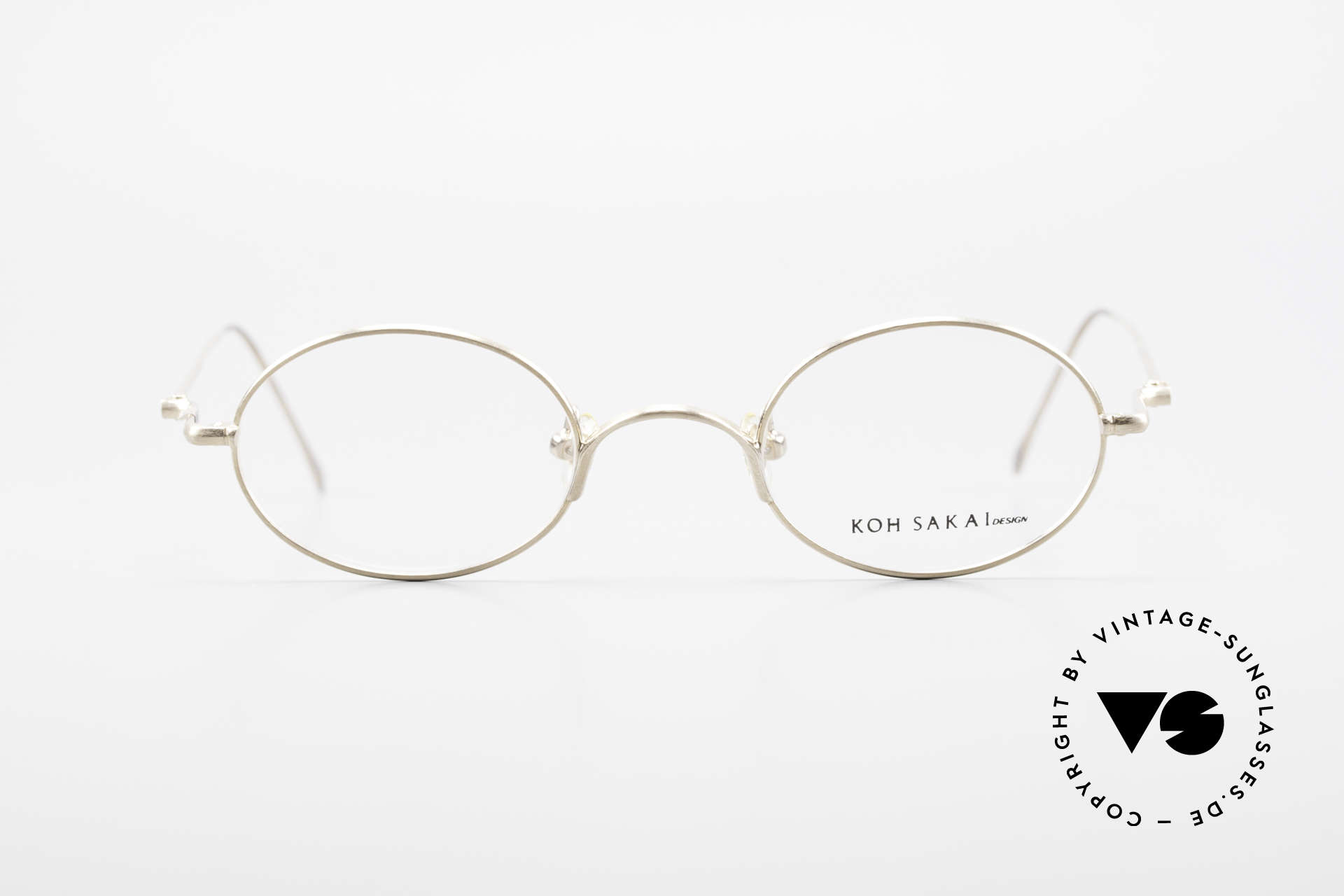 Koh Sakai KS9541 90s Oval Frame Made in Japan, Size: small, Made for Men and Women