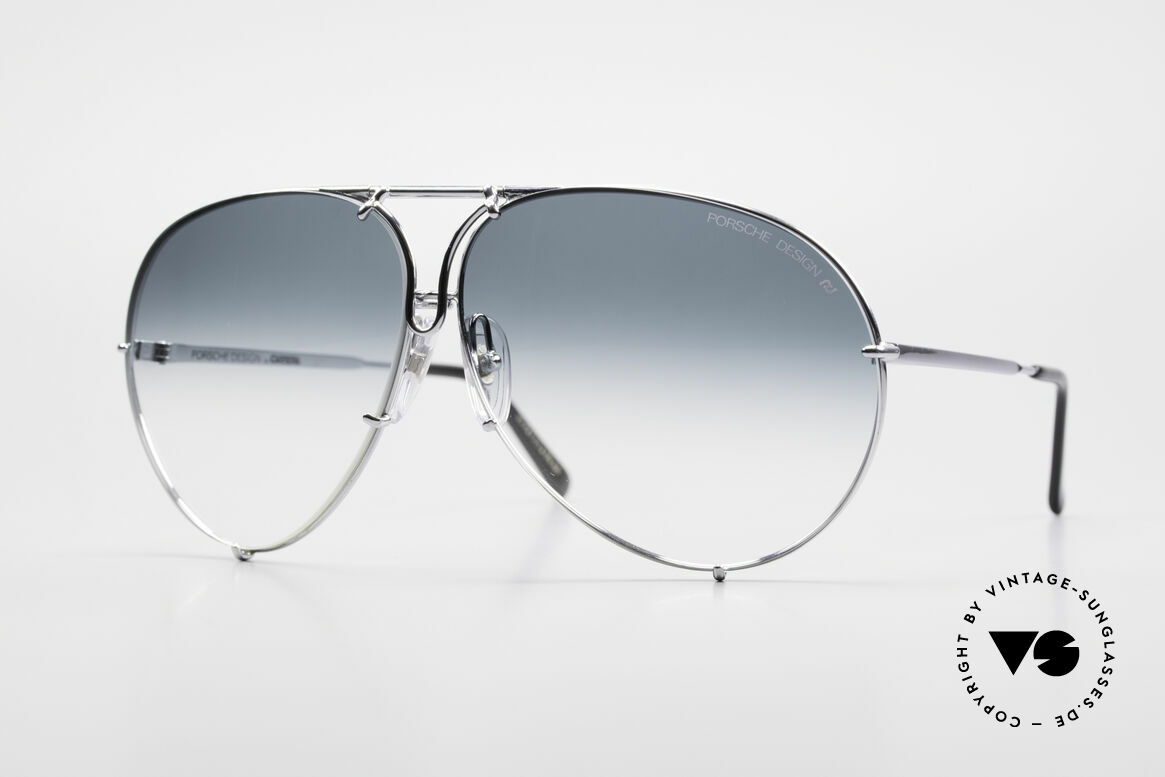 Porsche 5621 80's Aviator XL Sunglasses, one of the most wanted vintage models, worldwide, Made for Men