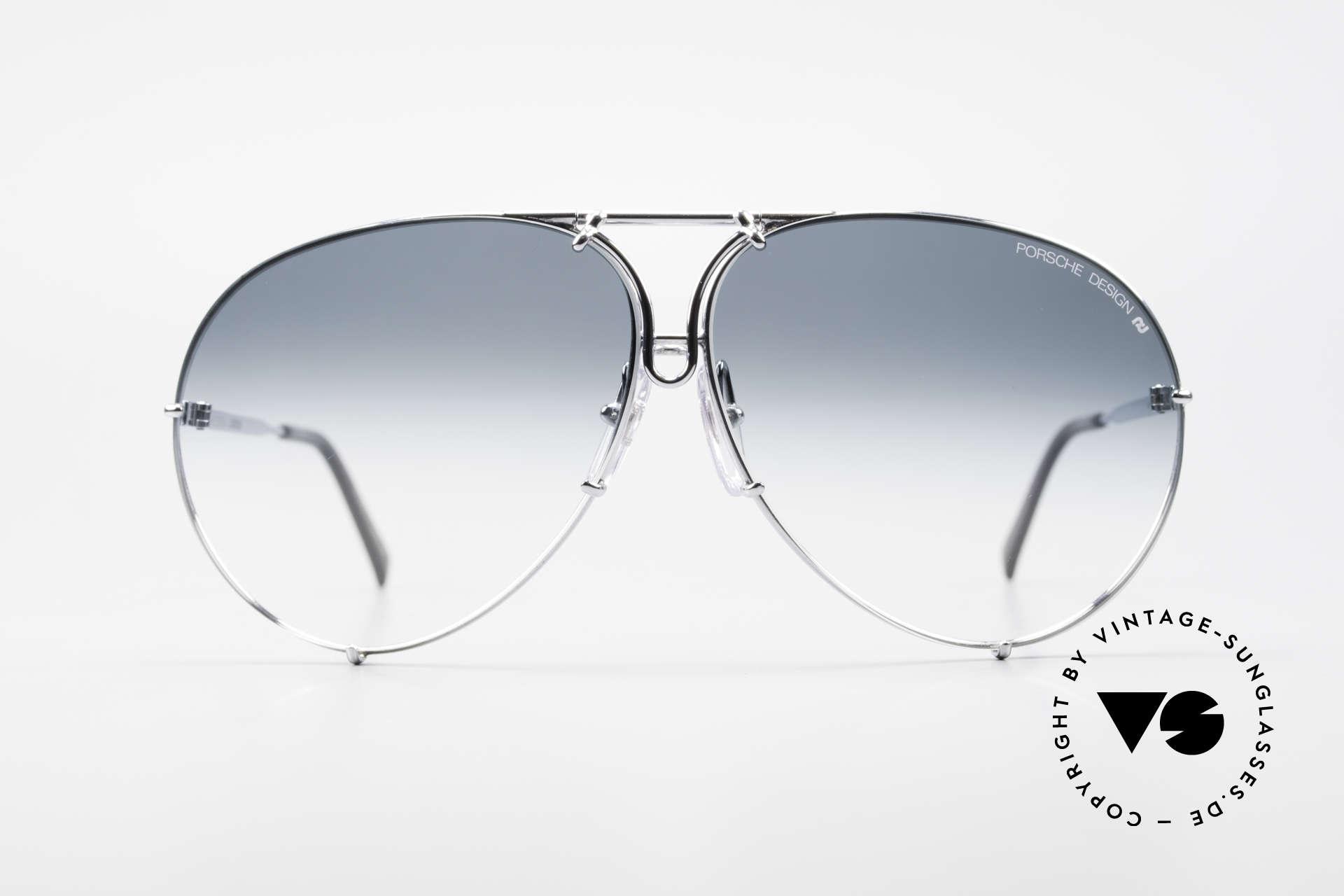 Porsche 5621 80's Aviator XL Sunglasses, vintage Porsche Design by Carrera shades from 1987, Made for Men