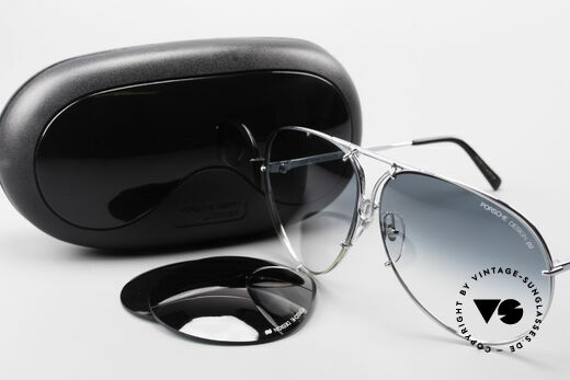 Porsche 5621 80's Aviator XL Sunglasses, model 5621 = 80's LARGE size (X-LARGE, these days), Made for Men