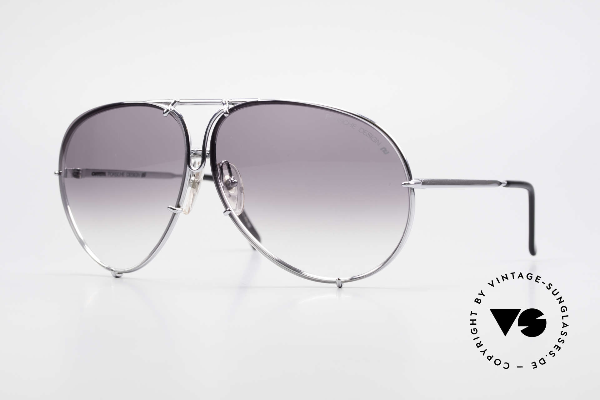 Porsche 5621 80's XL Aviator Sunglasses, vintage Porsche Design by Carrera shades from 1987, Made for Men and Women