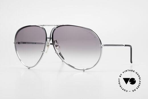 Porsche 5621 80's XL Aviator Sunglasses Details