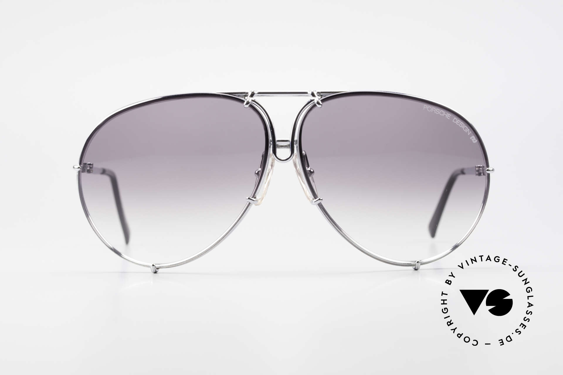 Porsche 5621 80's XL Aviator Sunglasses, one of the most wanted vintage models, worldwide, Made for Men and Women