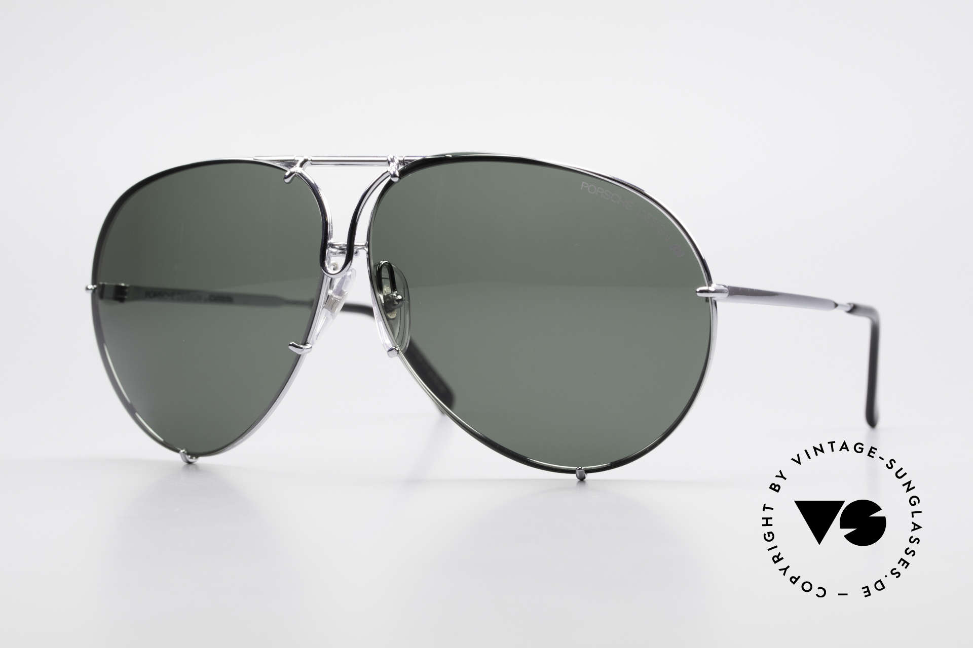 Porsche 5621 80's XL Aviator Sunglasses, unworn rarity incl. orig. hard case (collector's item), Made for Men and Women