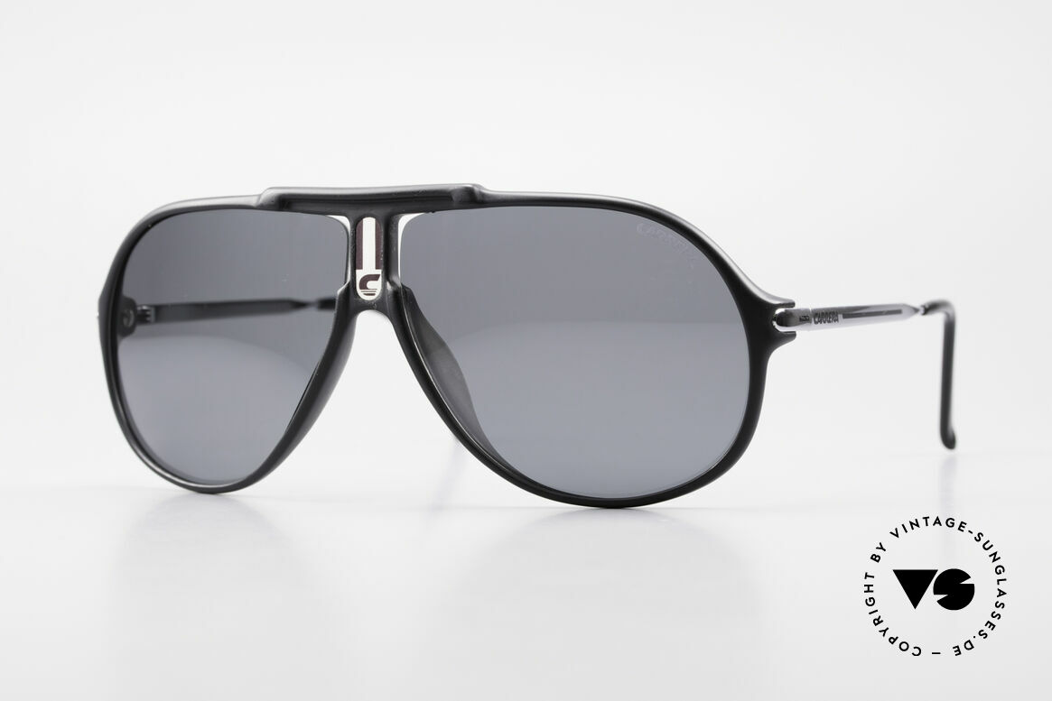 Carrera 5590 Polarized Sports Sunglasses, sporty 'aviator design' by CARRERA from the late 1980's, Made for Men