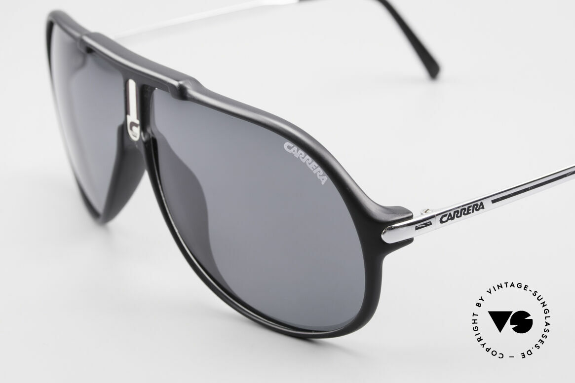 Carrera 5590 Polarized Sports Sunglasses, unworn (like all our rare vintage Optyl Carrera eyewear), Made for Men