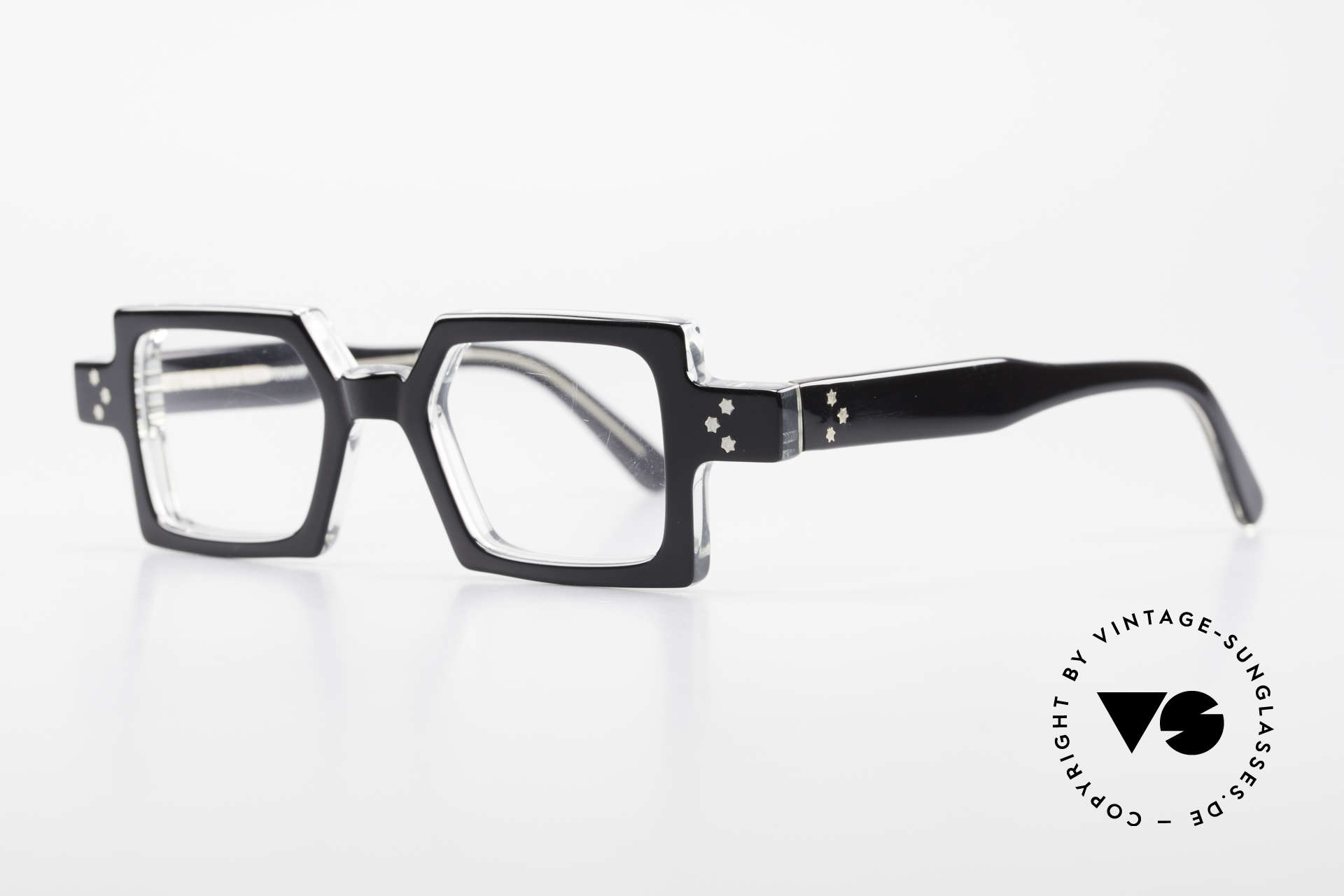 Anne Et Valentin Chico Square Old 80's Eyeglasses, spent their lives creating their own collection, Made for Men and Women