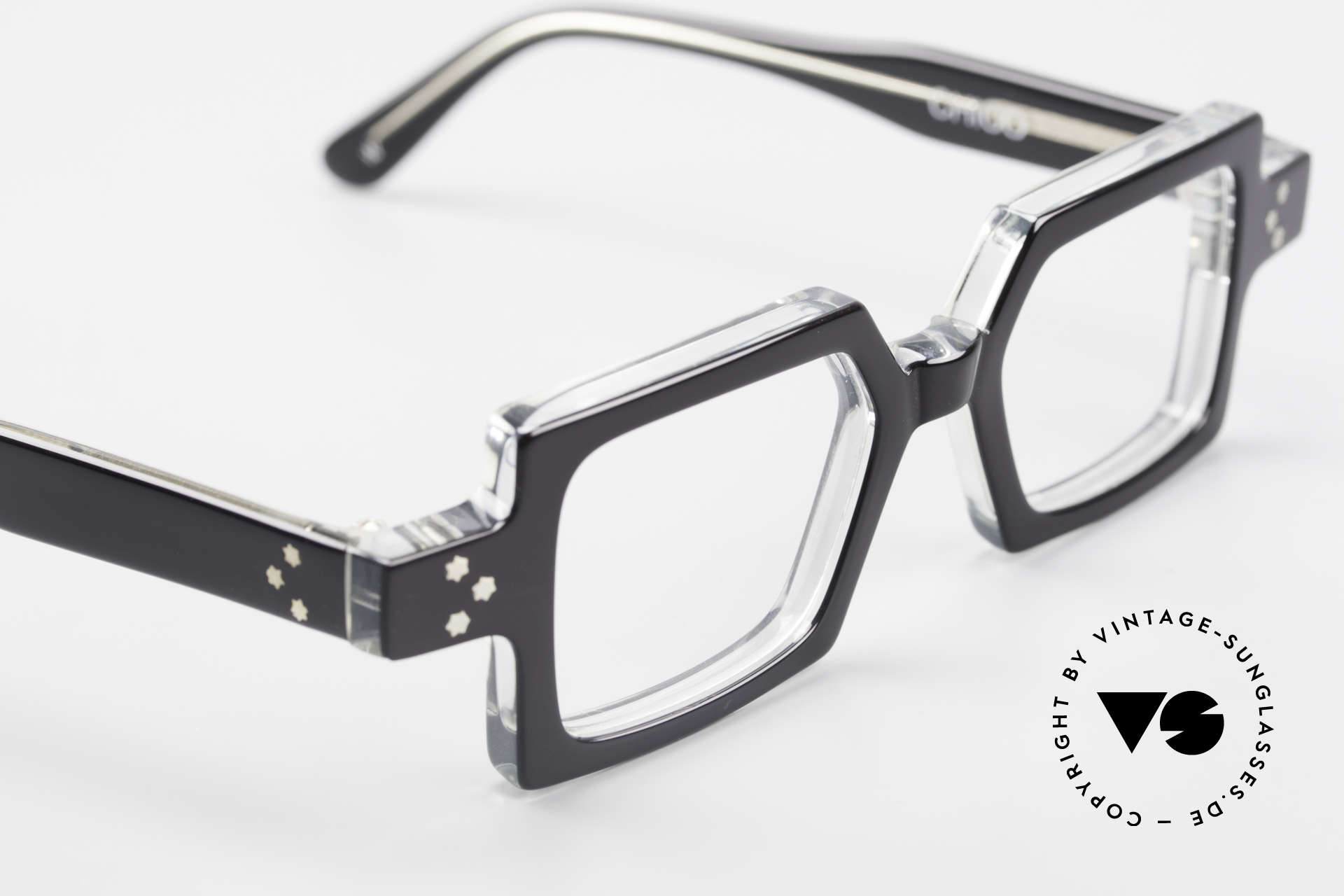 Anne Et Valentin Chico Square Old 80's Eyeglasses, this old model comes from the beginning of A&V, Made for Men and Women