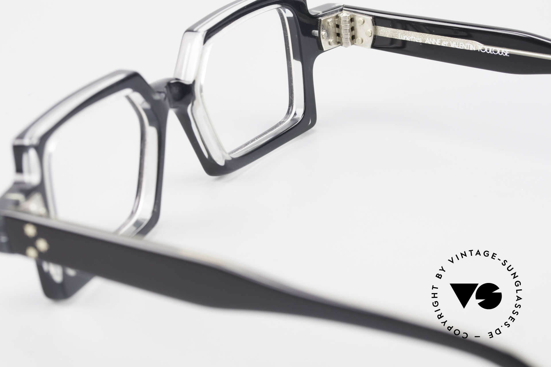 Anne Et Valentin Chico Square Old 80's Eyeglasses, UNWORN, single item, comes with an orig. case, Made for Men and Women