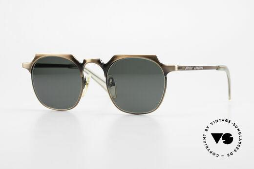 Jean Paul Gaultier 57-0171 Square Panto Sunglasses 90's Details