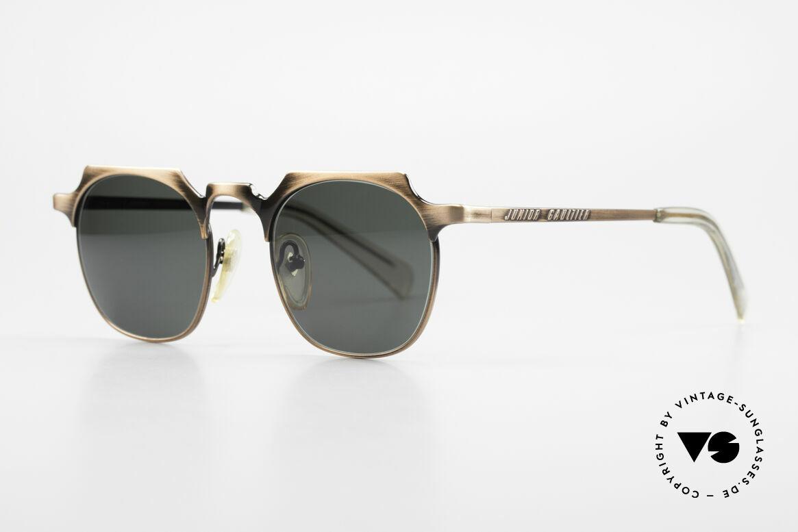 "Jean Paul Gaultier 57-0171 Square Panto Sunglasses 90's, square interpretation of the classic ""PANTO Design"", Made for Men"
