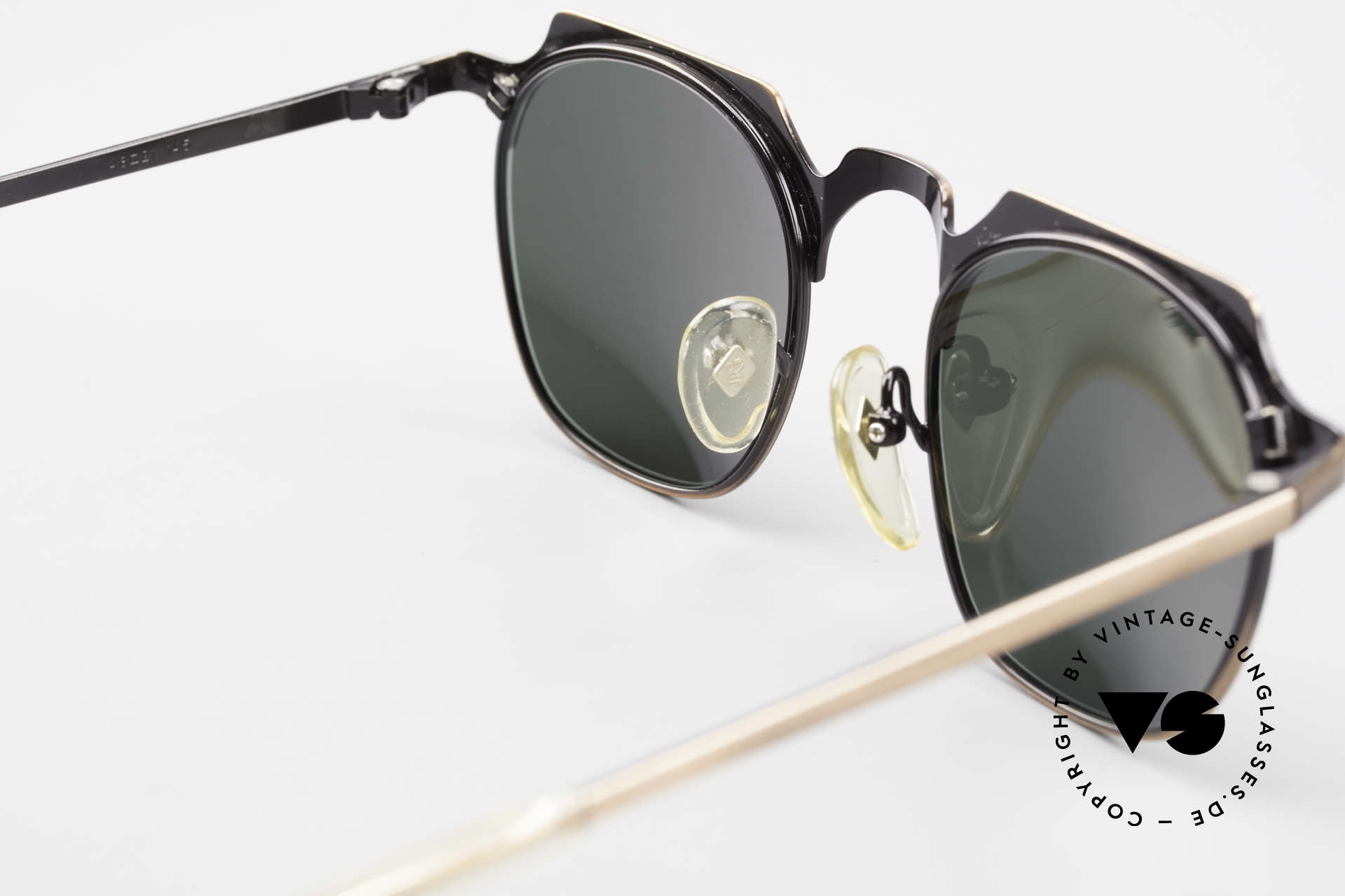 Jean Paul Gaultier 57-0171 Square Panto Sunglasses 90's, NO RETRO fashion, but a genuine 25 years old rarity, Made for Men