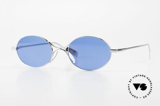 Jean Paul Gaultier 55-0173 Oval JPG Designer Sunglasses Details