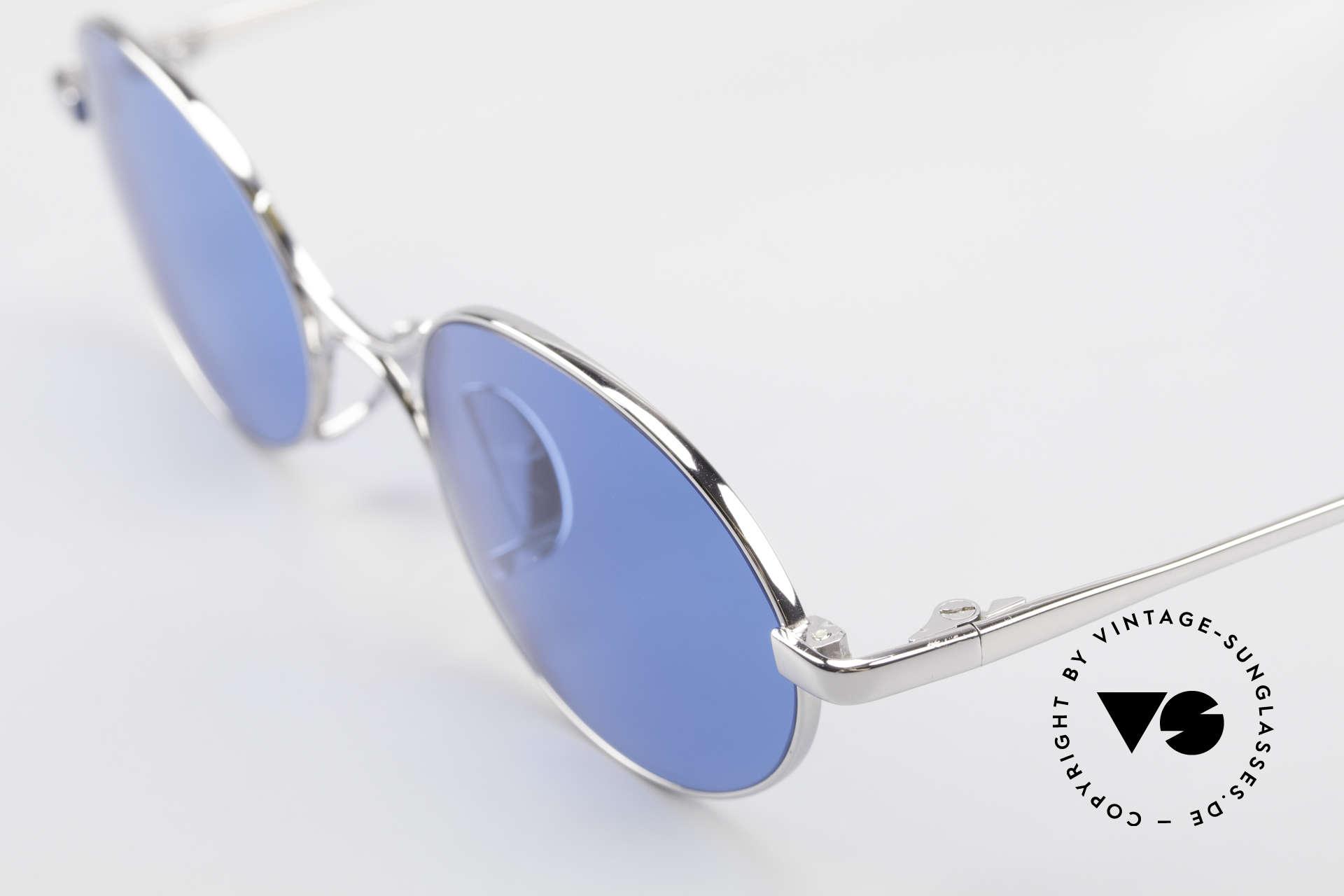 Jean Paul Gaultier 55-0173 Oval JPG Designer Sunglasses, true designer piece in top-notch craftsmanship, Made for Men and Women