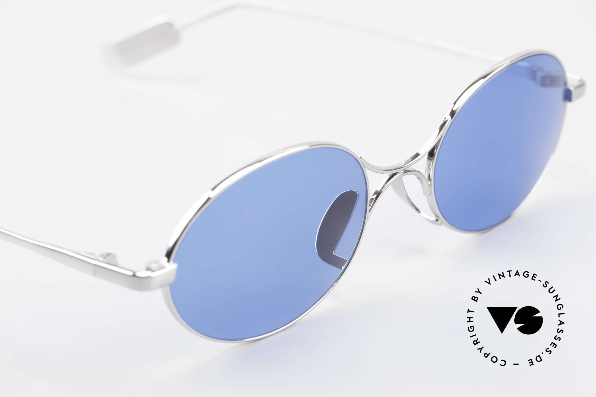 Jean Paul Gaultier 55-0173 Oval JPG Designer Sunglasses, 2nd hand, but in a mint condition + orig. case, Made for Men and Women