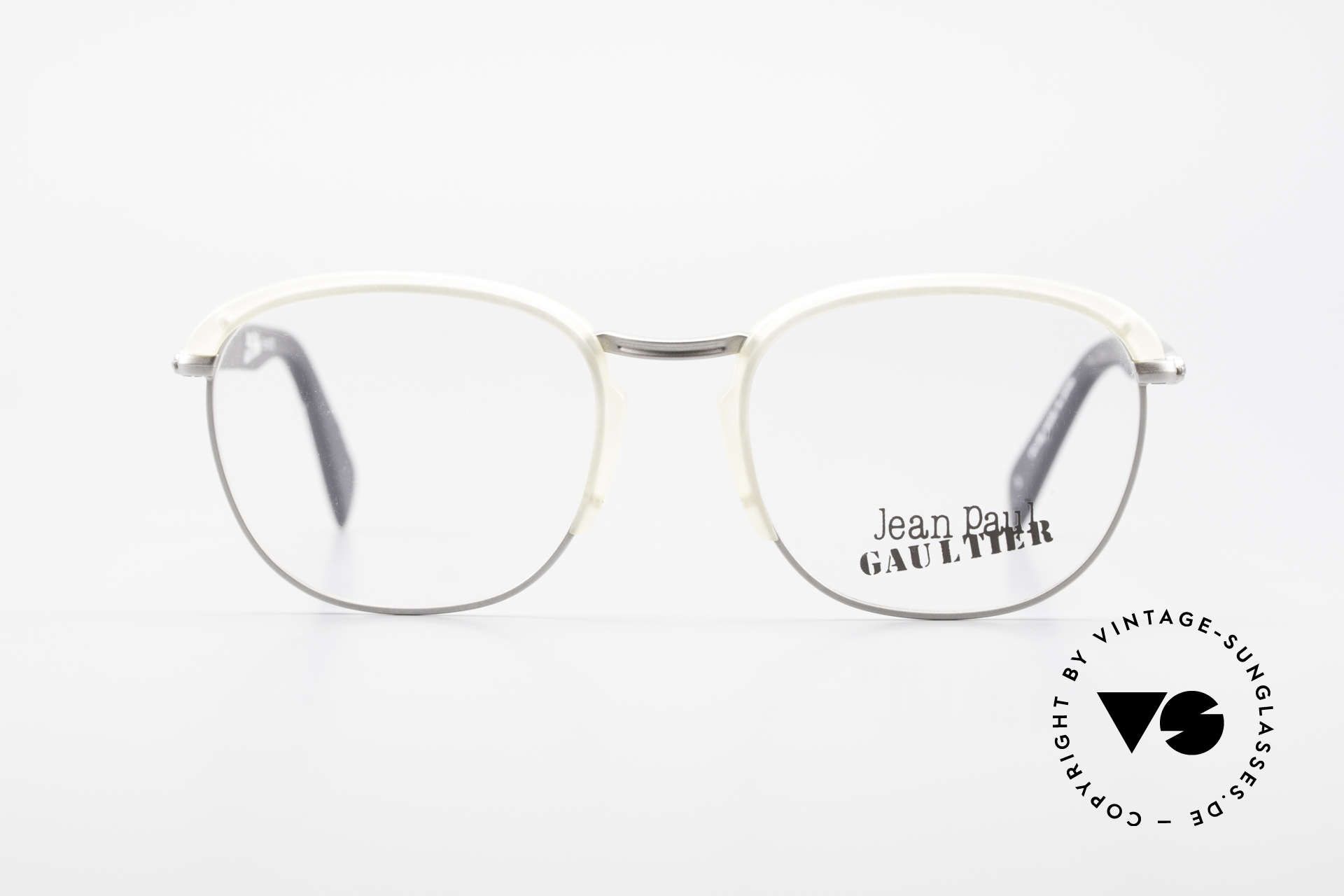 Jean Paul Gaultier 55-1273 Old Vintage 90's Specs JPG, lightweight frame and very pleasant to wear, Made for Men and Women
