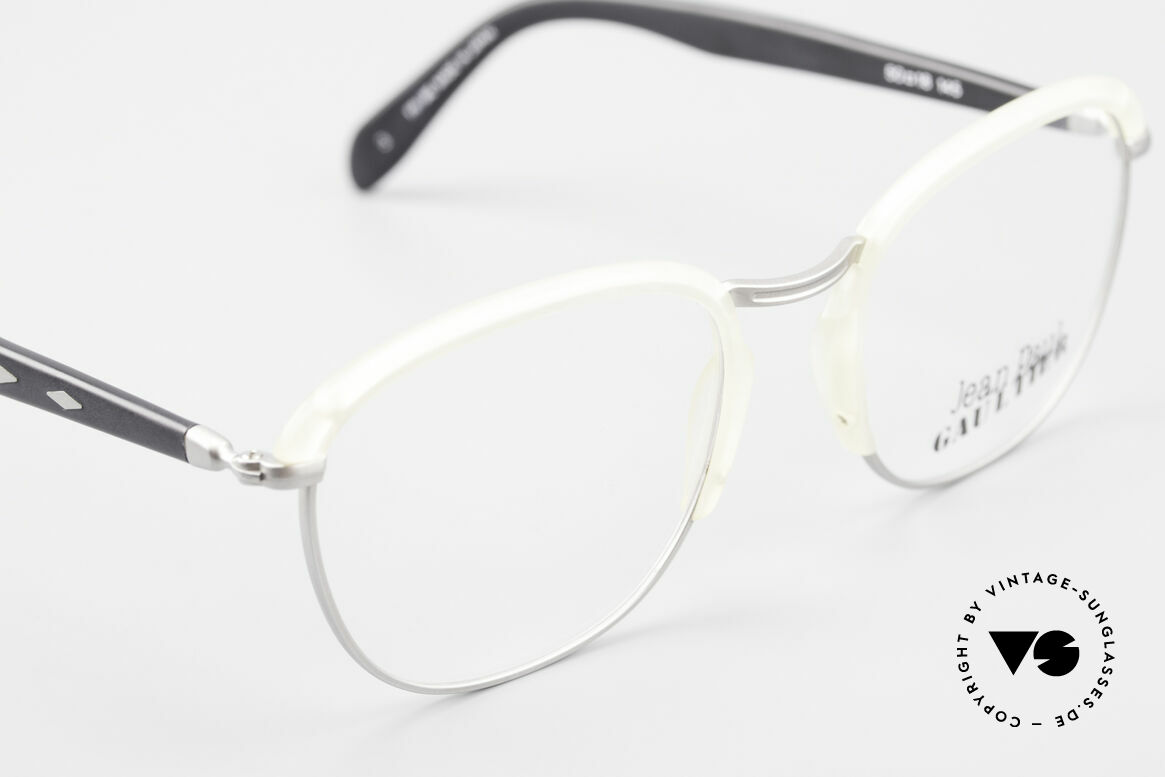 Jean Paul Gaultier 55-1273 Old Vintage 90's Specs JPG, NO RETRO specs, but an old original from 1993, Made for Men and Women