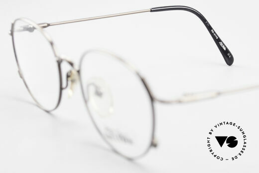 Jean Paul Gaultier 55-2176 JPG Panto Glasses 90s Original, the frame fits lenses of any kind (optical / sun), Made for Men and Women