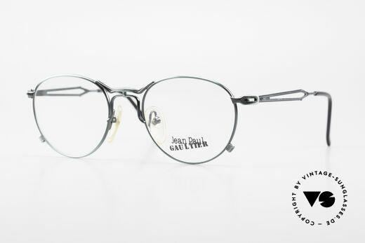 Jean Paul Gaultier 55-2177 Rare Designer Eyeglasses JPG Details