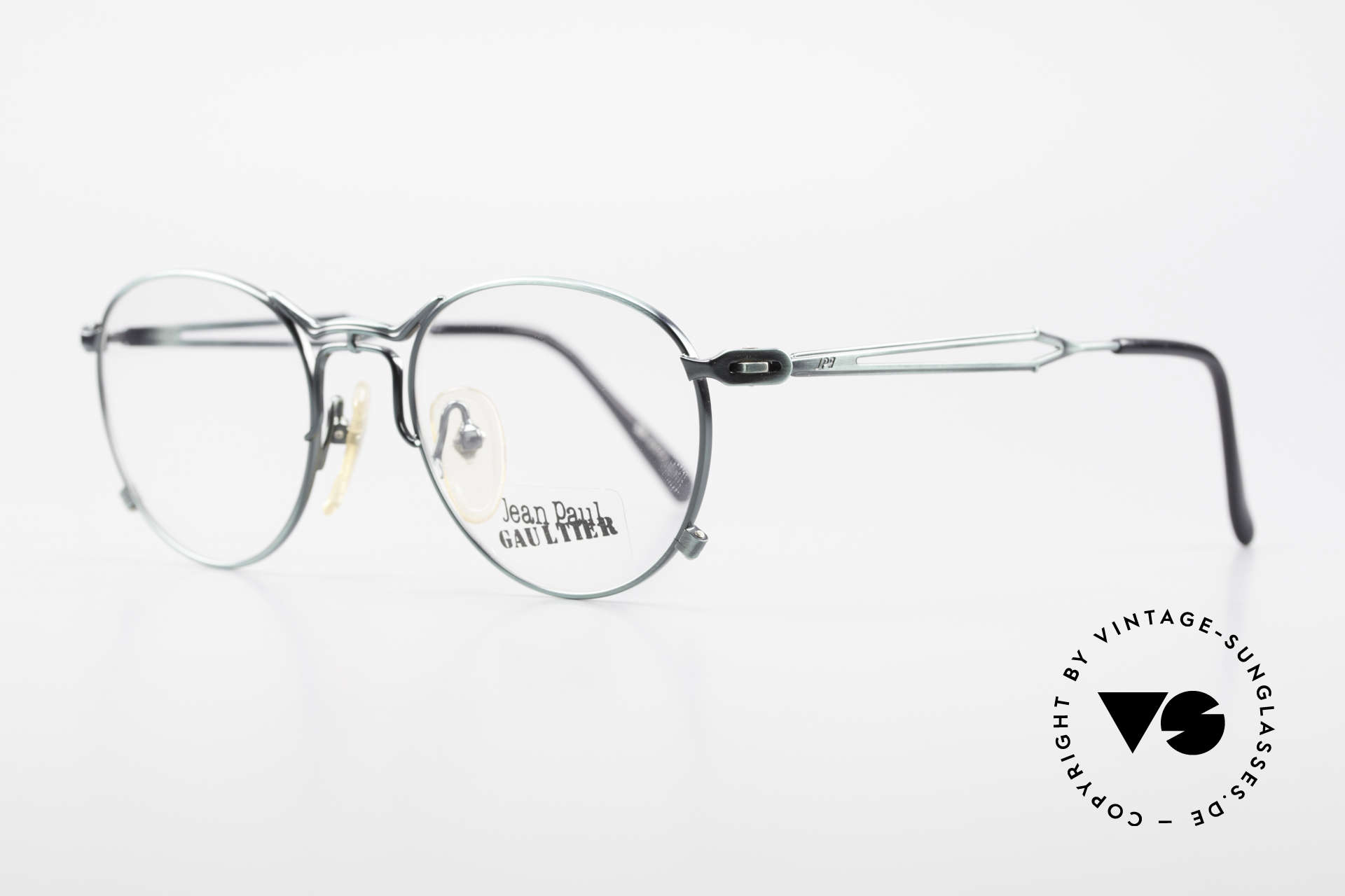 Jean Paul Gaultier 55-2177 Rare Designer Eyeglasses JPG, a real designer frame in top-notch quality from 1996, Made for Men and Women