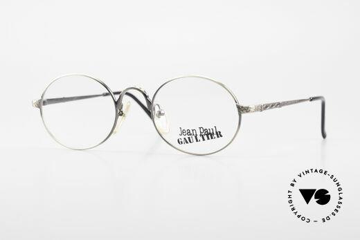 Jean Paul Gaultier 55-9672 Oval 1990's JPG Eyeglasses Details